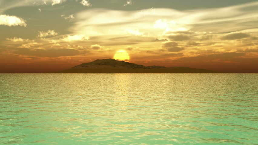 Island Sunrise