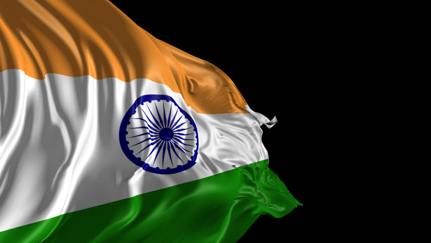 Indian Flag Images Hd720p: Flag Of India Beautiful 3d Animation Of India Flag With
