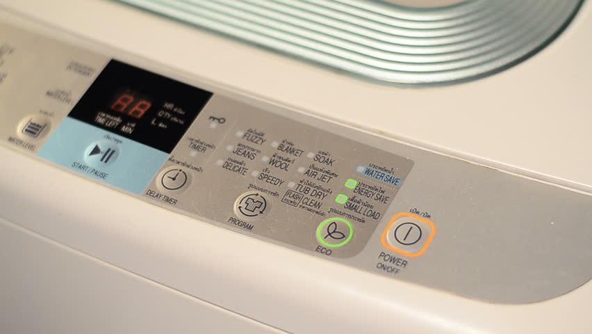 how to start washing machine