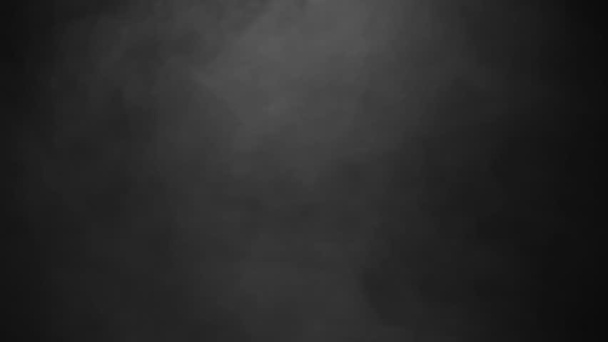 Editing Background Banner: Medium Smoke Ambiance Effect Isolated On Black Background