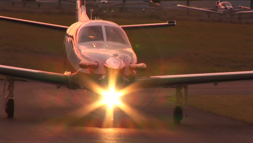 Daher_Socata TBM 850, fastest turboprop in it's class, conduction various flight test operations.in the Bahamas and Florida, 2005 - SD stock footage clip