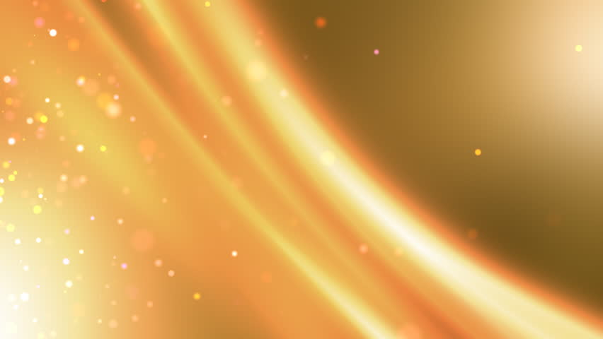 A beautifully animated video background of a smooth golden abstraction.
