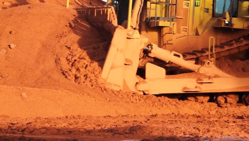 strip mining bauxite ore