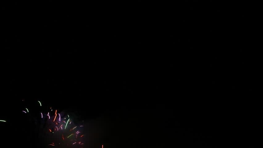4K Time lapse Fireworks