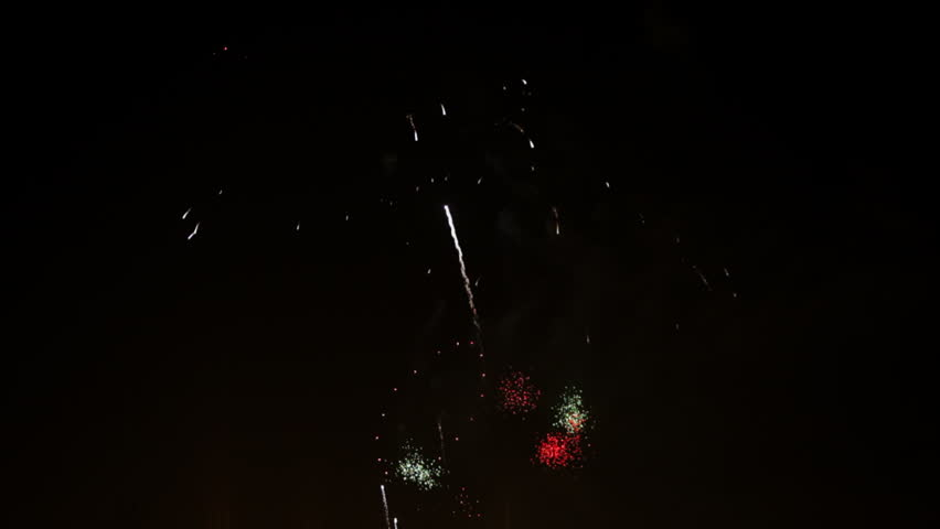 Time lapse Firework display