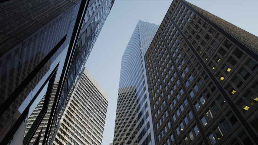 USA, California, San Francisco, Low angle view of modern skyscrapers #6075377