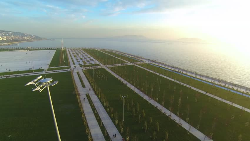 Maltepe filling area arrangement application project. In this project, 690 thousand square meters allocated for the green field and will plant 20,000 trees.