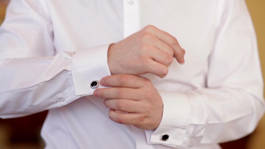 White Shirt With Cufflinks | Is Shirt