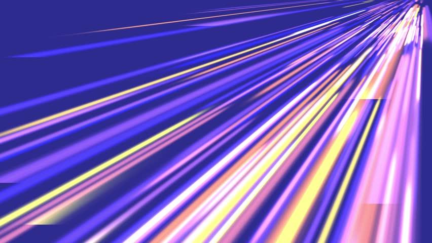 Beautiful generated Speed lines neon,virtual striped data,fantasy spread road.fashion creativity industrial,stripe decor,technical stock,network transfer. cg_01400