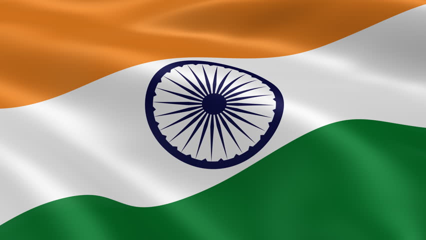 Indian Flag 4k Wallpaper: Stock Footage Video 663292