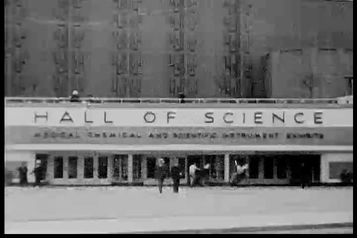 CIRCA 1930s - Silent home movie footage from the Chicago Century of Progress Exhibition held from 1933 through 1934. - SD stock video clip
