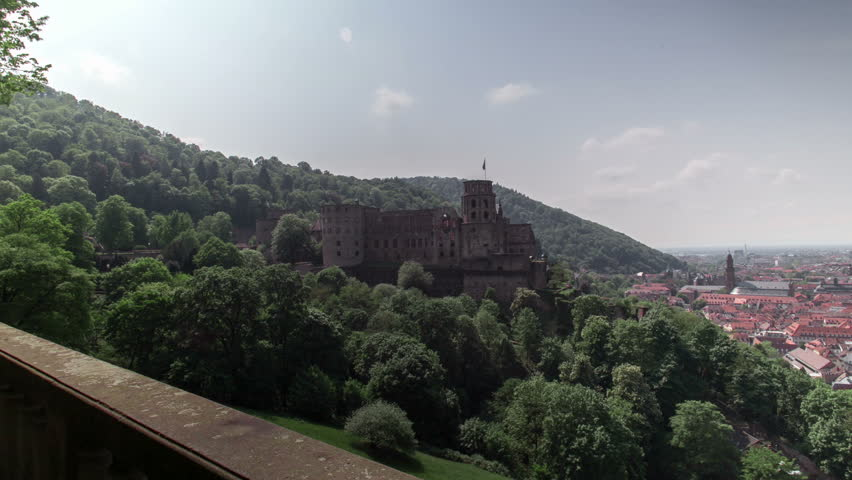 Castle and Old City of Heidelberg