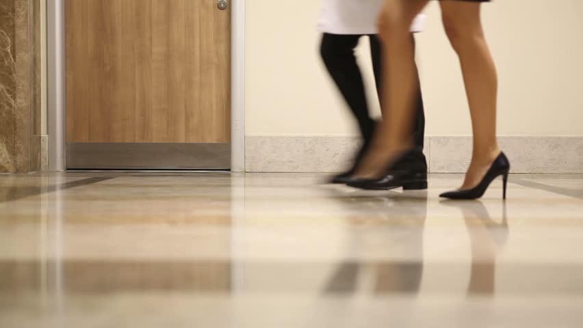 Doctors Walking At Hospital Corridor   Shutterstock HD Video #6379946