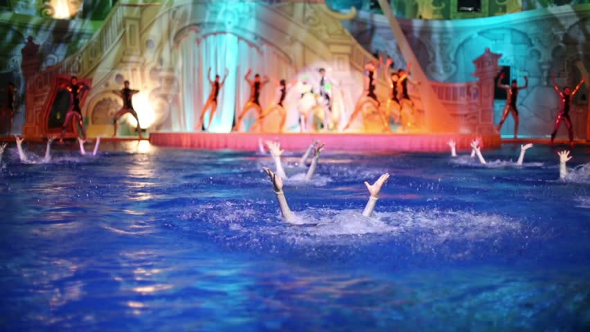 Moscow russia july 29 2015 young boy kids in zorb for Pool dance show