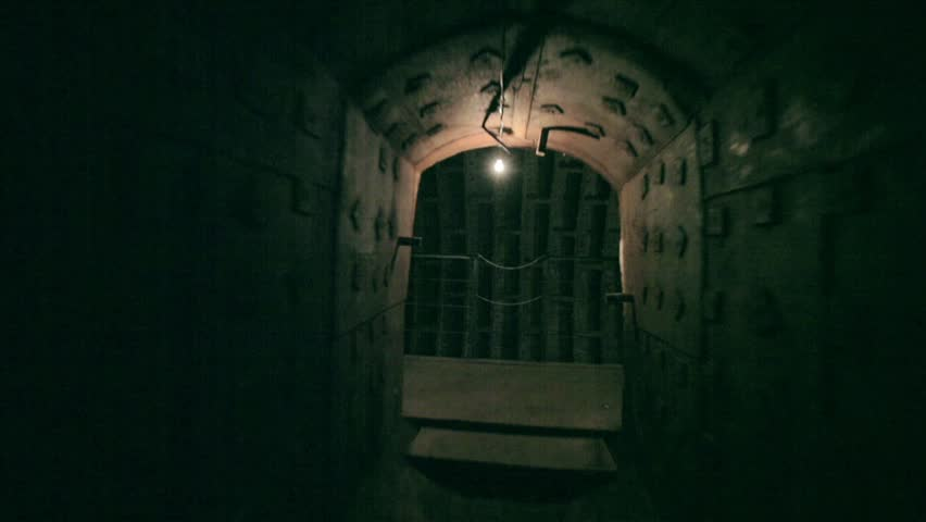 Russia, Moscow 2012 - Stalin's bunker, excursion on the confidential bunker of times of cold war