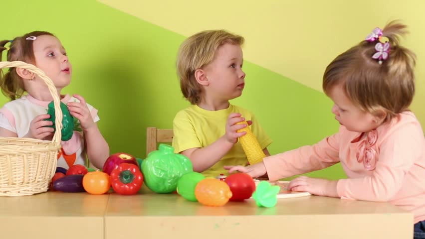 Kids Painting Easter Eggs Stock Footage Video 5442248 - Shutterstock