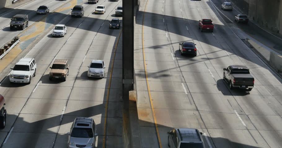 Freeway Timelapse 01 LA Downtown   Shutterstock HD Video #6573203