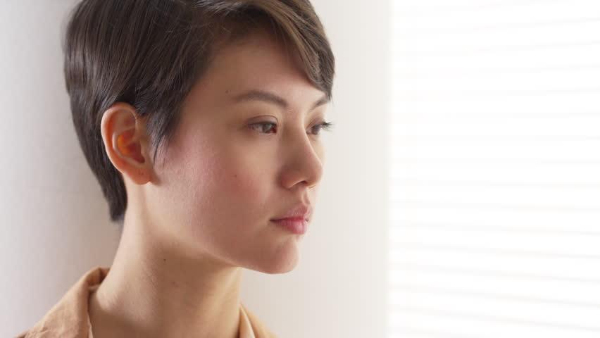 Beautiful Asian woman wearing vintage clothes | Shutterstock HD Video #6596423