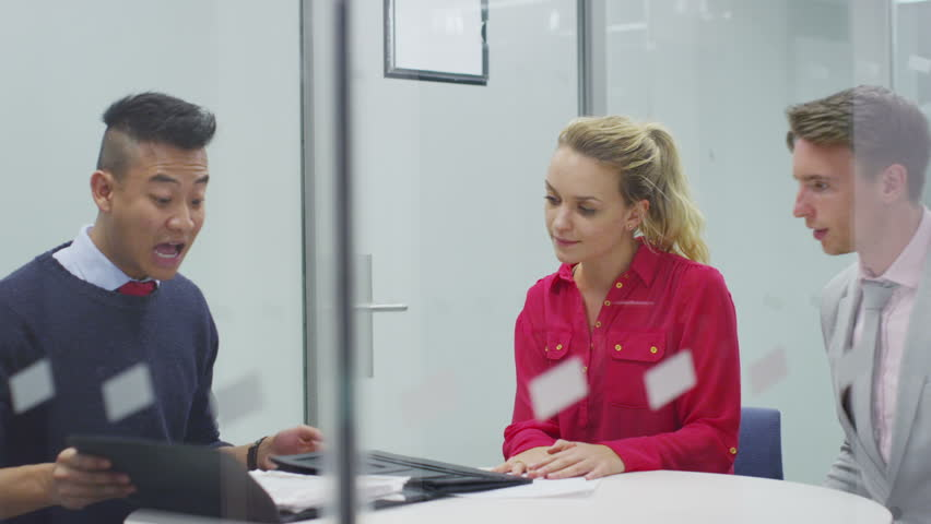Job interview or meeting with a business client