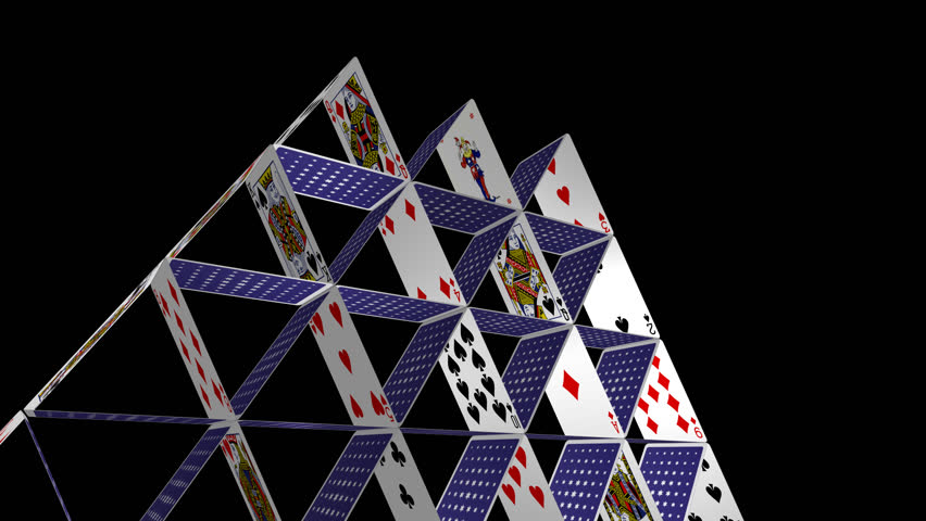 Card House - Spinning Loop - 5 - 25 Fps - House Of Playing ... House Of Playing Cards