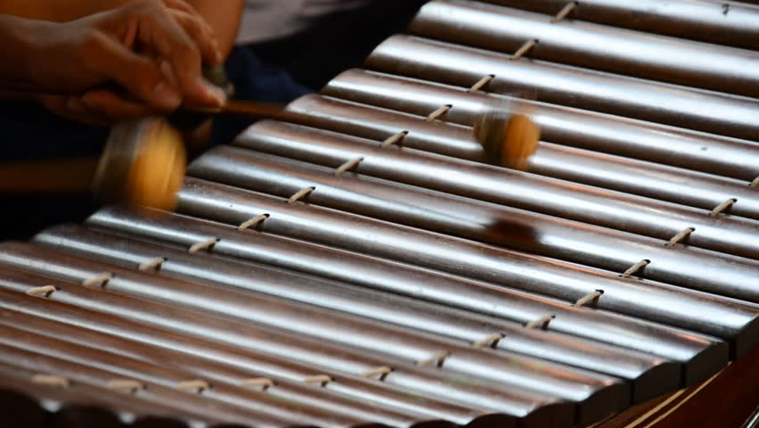Thai Xylophone An Ancient Instrument. High Definition 1920x1080 Video Format. Stock Footage ...