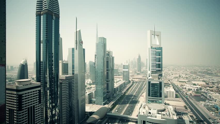 Skyscrapers of DUBAI, UNITED ARAB EMIRATES