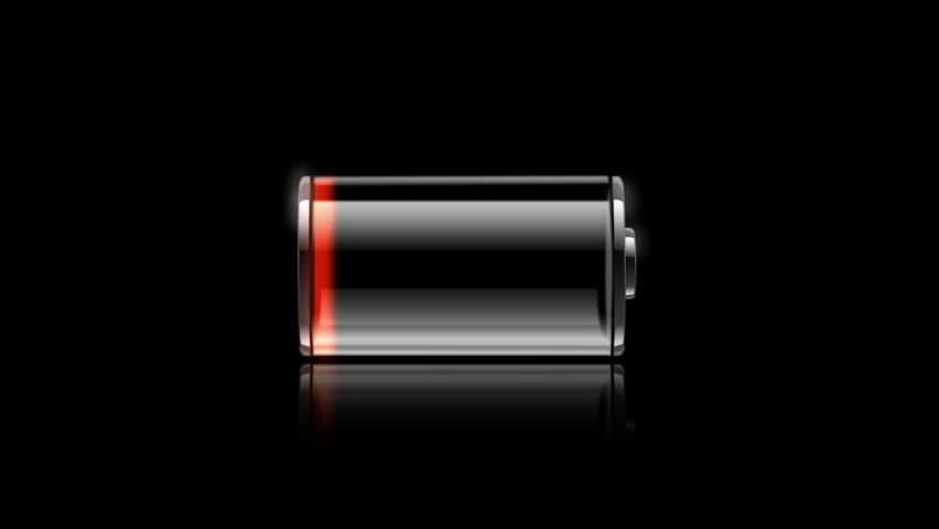 Animated battery HD