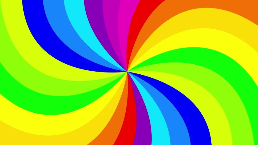 spiral rainbow - photo #22