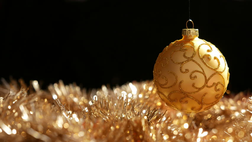 Spinning Christmas Balls Stock Footage Video 1806365