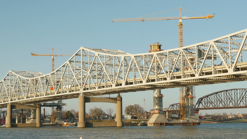 New Louisville Bridge on The New I-65 Bridge