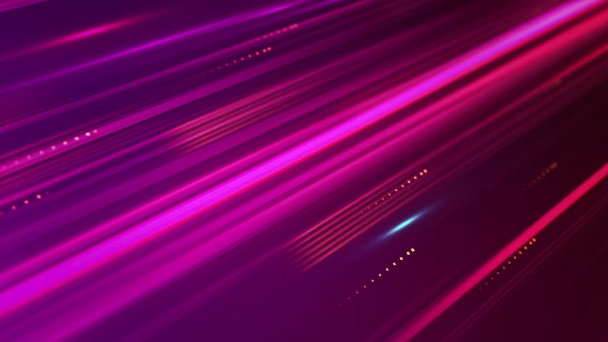 Moving Purple Stripes And Squares Tech Background. Loop ...