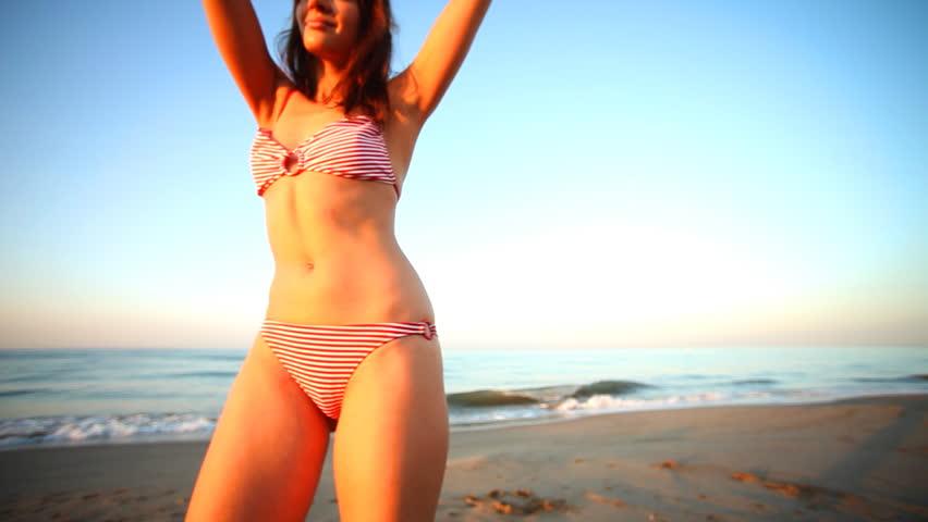 Barcelona august 07 female dj performs during we love for Bikini club barcelona