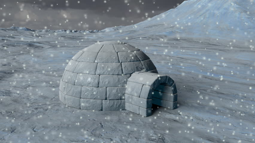 Arctic Igloo  - 4K Resolution Ultra HD