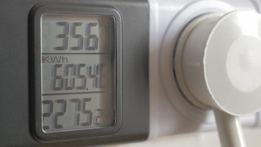 Power Demand Meter : Power meter measuring consumption k uhd