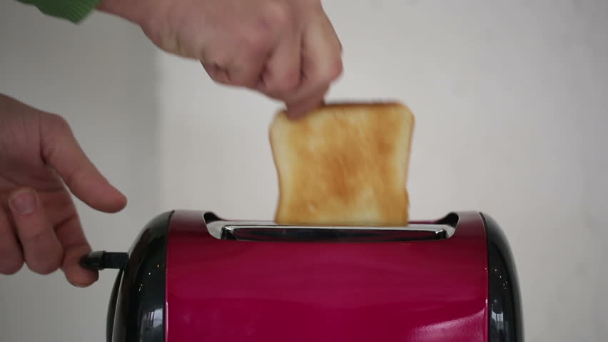 Self Cleaning Toaster ~ Never seen toaster sacrifice how to clean stainless steel