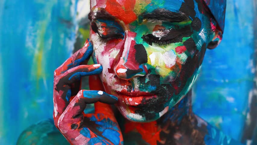 Alive painting - animated portrait | Shutterstock HD Video #9128978