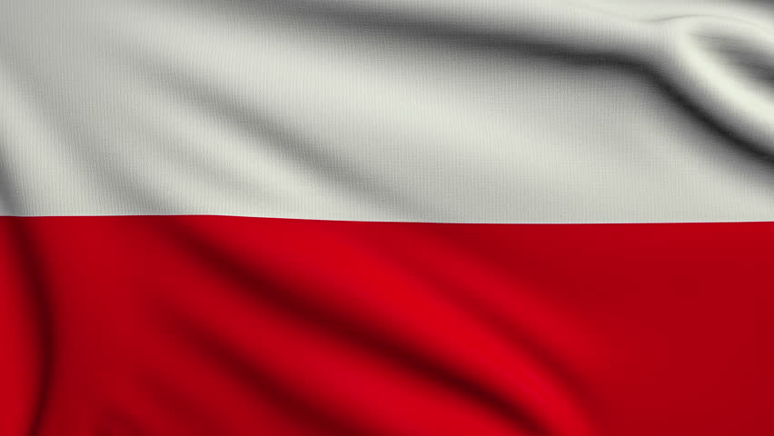 3d animation flag of Poland looping | Shutterstock HD Video #9213713