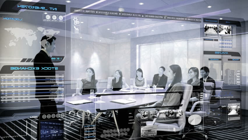 Futurisitc Meeting Room