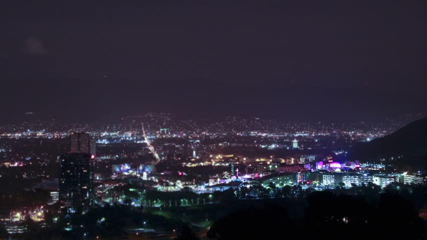 Tilt-shift of Universal Studios and City Walk   Shutterstock HD Video #9357983