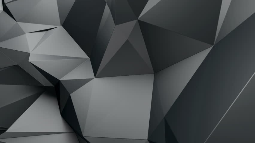 3d abstract geometric background with sharp spikes with shadows | Shutterstock HD Video #9439199