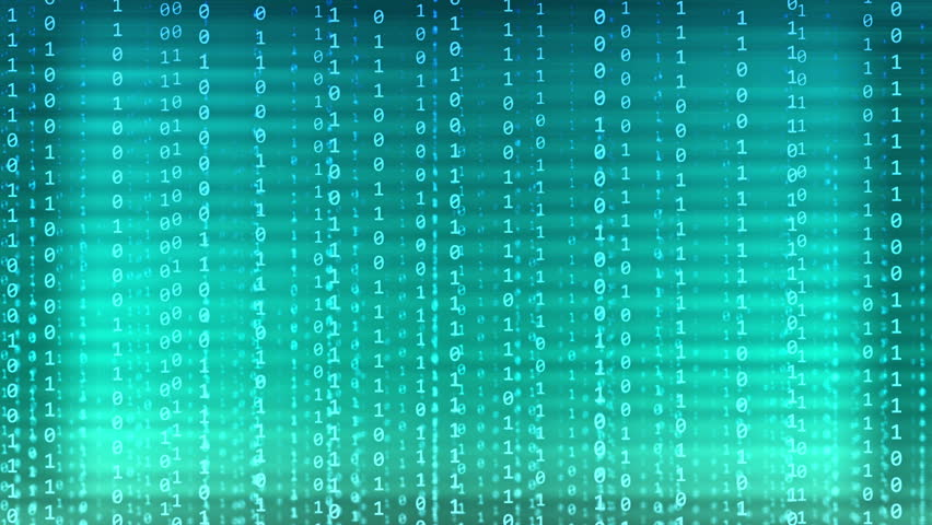 Numbers in Binary Code Binary Code Numbers Moving