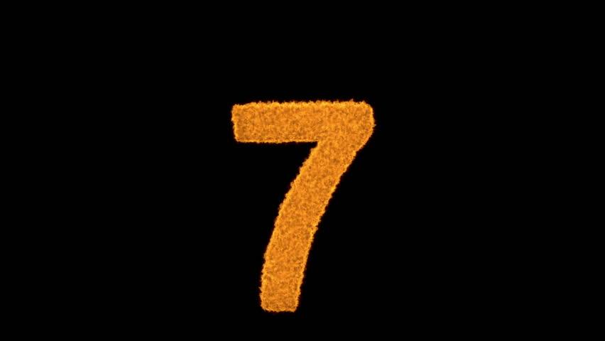 Number 7 Wallpaper Hd