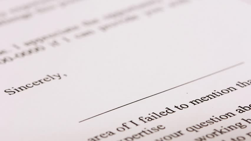Hand signing a contract in black ink, representing a company - HD stock video clip