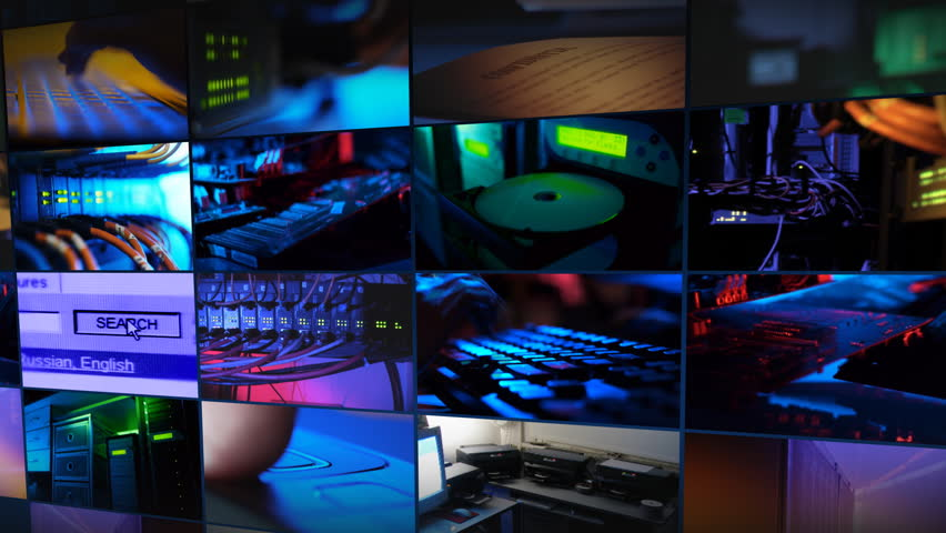 Communication technology montage