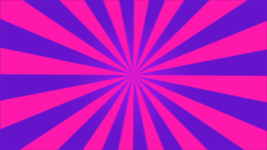 [720p 60fps] Spinning Starburst Background #6 - YouTube |Spinning Purple Background