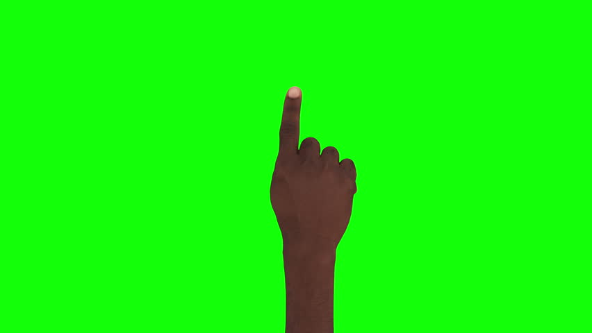 NEW 4K. 16 Hand gestures + 2 tablet shots. Touchscreen. Afro-american hand. Male hand showing multitouch gestures in green screen. MORE OPTIONS IN MY PORT. You can insert your own videos or photos.