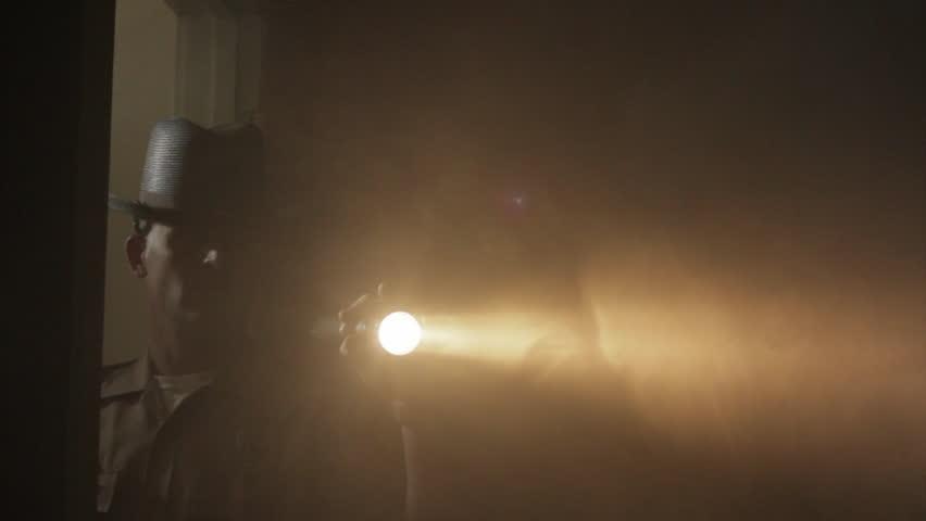 Smoky Light Fills Room