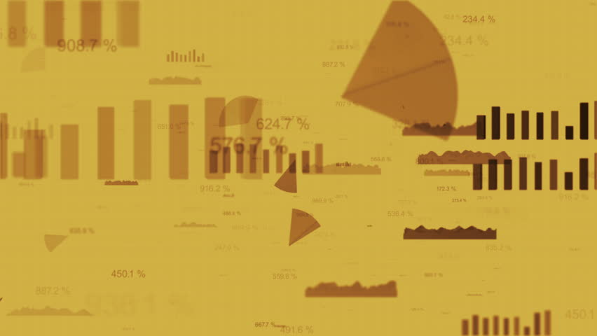 Loopable finance background with flying through the charts and bars and randomly changing numbers   Shutterstock HD Video #9760535