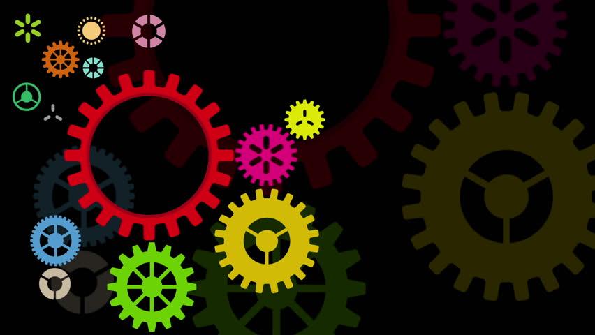 Industrial wheel background, , HD 1080 - HD stock footage clip