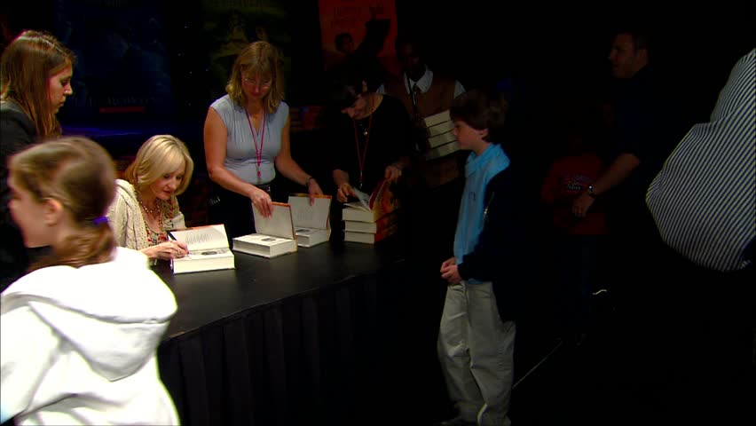 Hollywood, CA - October 15,2007: JK Rowling at JK Rowling Open Book Tour, Kodak Theatre